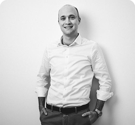 Recruiting Agentur 6/5: Geschäftsführer Dr. Max Hermann