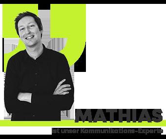 Projektleiter Mathias Rusche